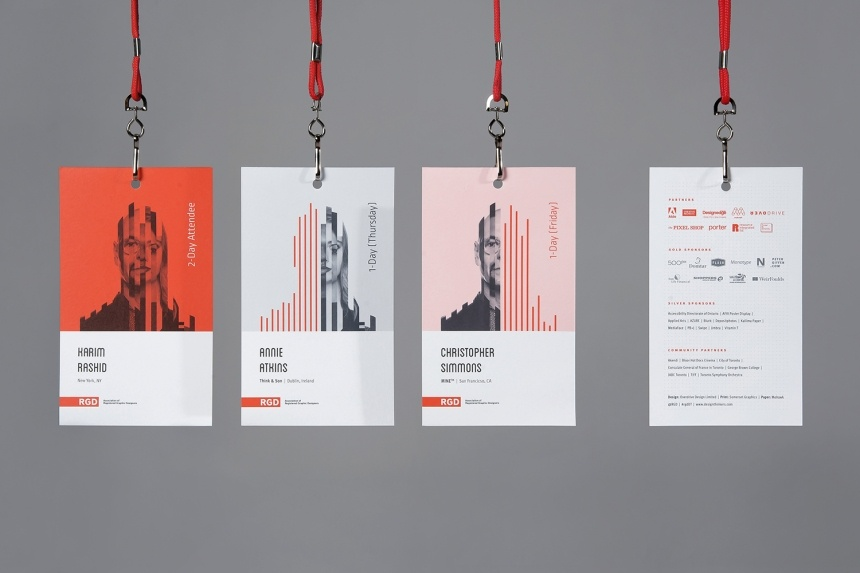 Engaging event badges