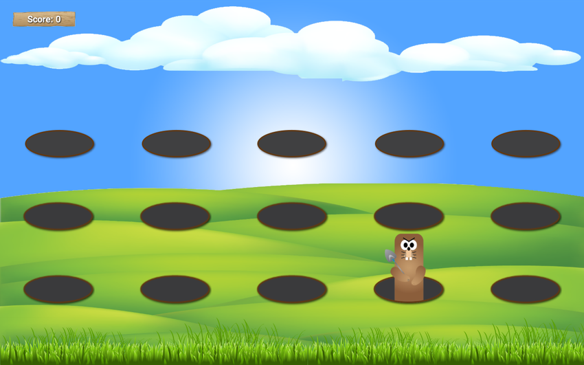 Screenshot-of-the-whack-a-mole-game
