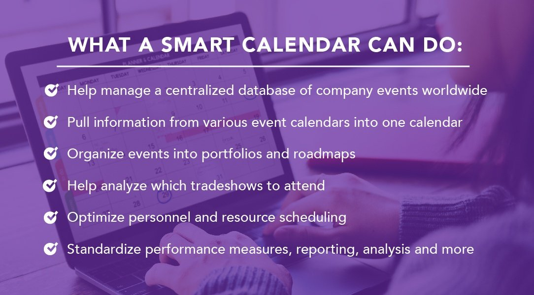7.46 billion* reasons to centralize Enterprise Event Planning on one calendar