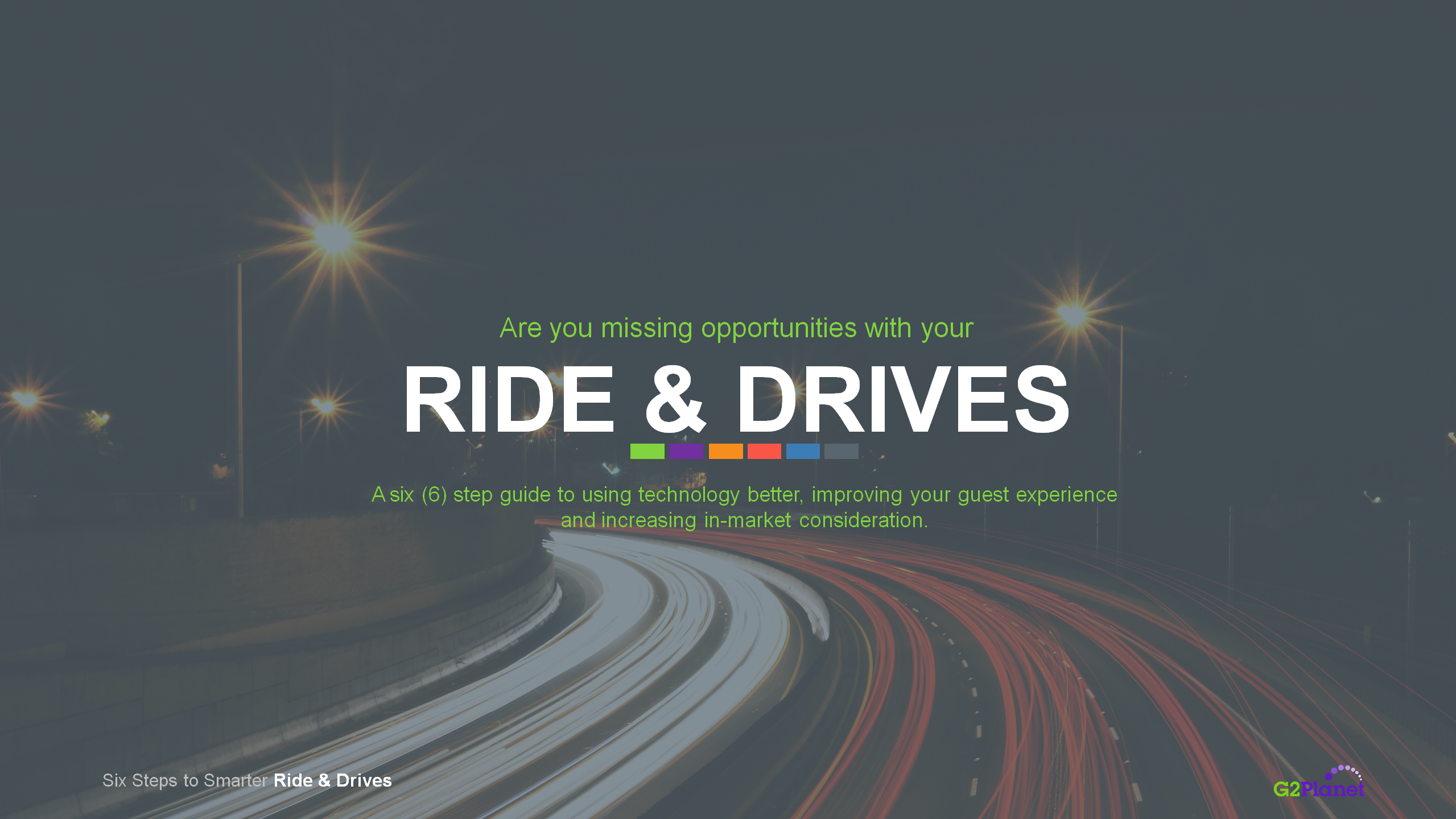 6 Steps to Better Ride & Drive Activations