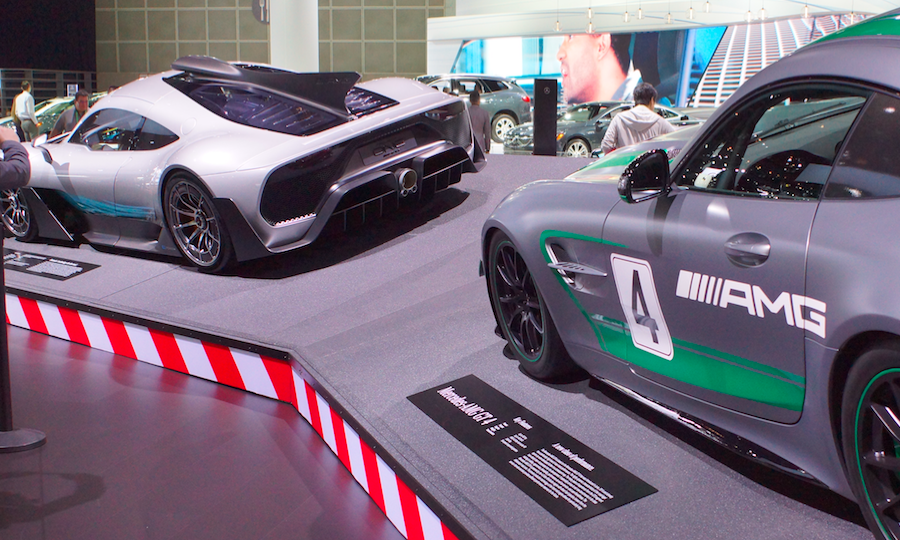 Deep Inside an Auto Show[With Video]