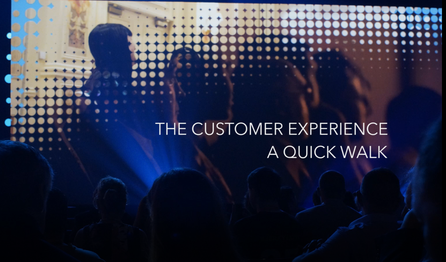 NEW VIDEO: The Customer EXP. Essential viewing.