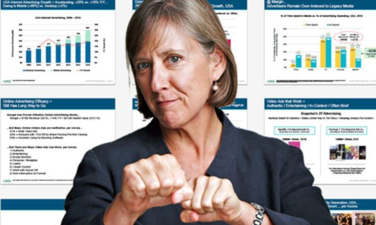 The Mother of all Influencers. Mary Meeker's Internet Trends for 2018.